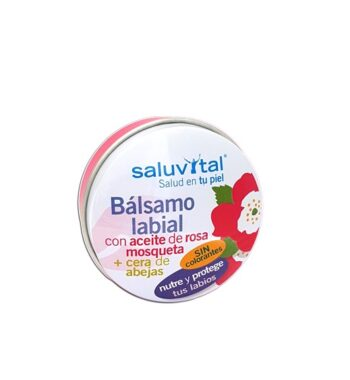 SALU13.1 Rosa Mosqueta Bálsamo Labial 15 gr